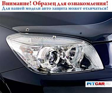 Защита фар  для Toyota Land Cruiser 200 (2007-), прозрачный, Egr