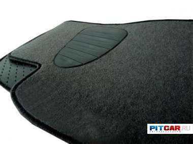 Коврики в салон для Hyundai Accent (Тагаз) (2000-), ворсовые на резиновой основе, Seintex