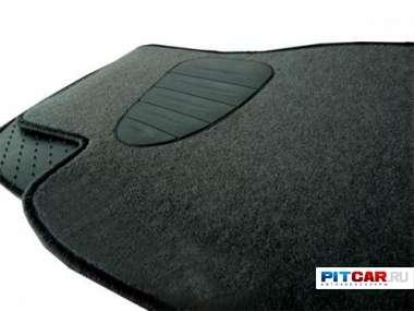 Коврики в салон для Toyota Land Crusier 120 Prado (2002-2009), ворсовые на резиновой основе, Seintex