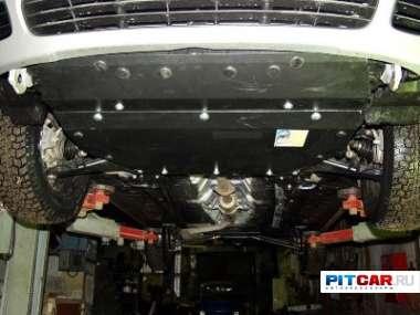 Защита картера и КПП для Hyundai Elantra (Тагаз) (2000-2006), Sheriff