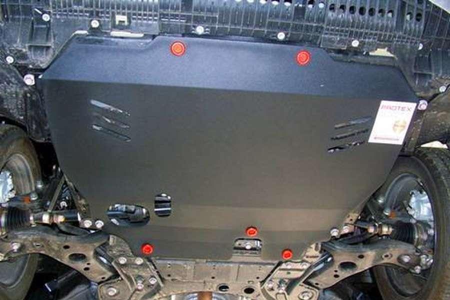 защита двигателя honda fit 2009